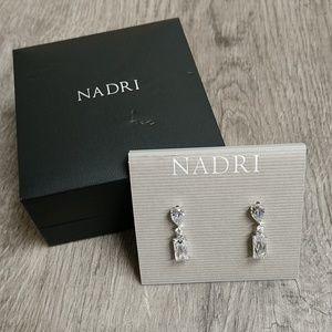 Sparkling Nadri Crystal Earrings